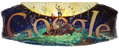 google doodle for October 15, 2011