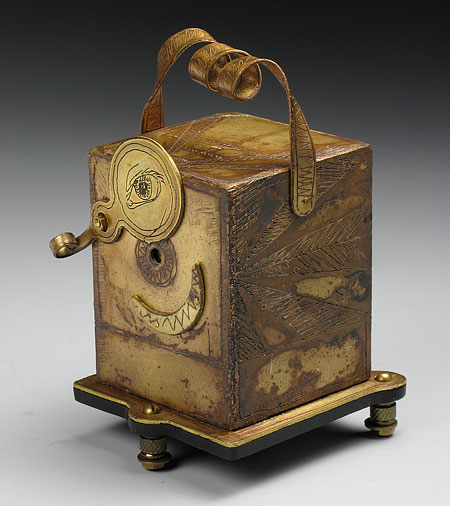 Judith Hoffman Memocam brass pinhole camera